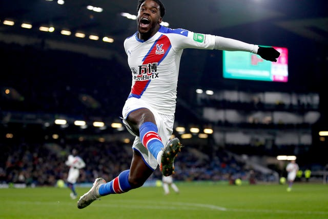 Jeffrey Schlupp's goal made the points safe for Crystal Palace