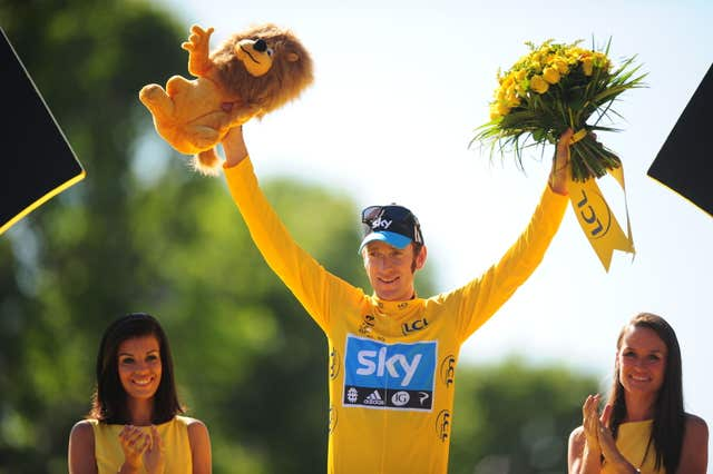 Bradley Wiggins became the first Brit to win the Tour de France in 2012