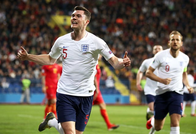 Michael Keane equalised for the Three Lions