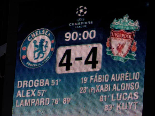 Chelsea and Liverpool produced a thriller