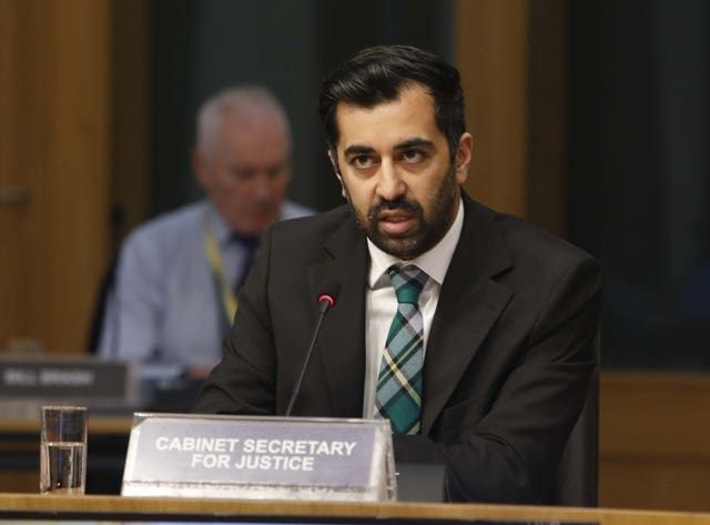 Humza Yousaf appearing before Holyrood committee