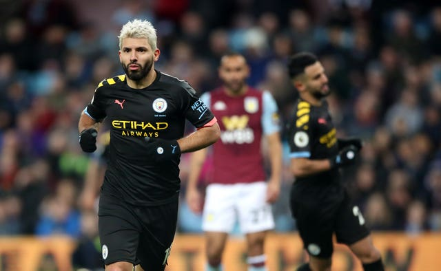 Sergio Aguero broke a Premier League record