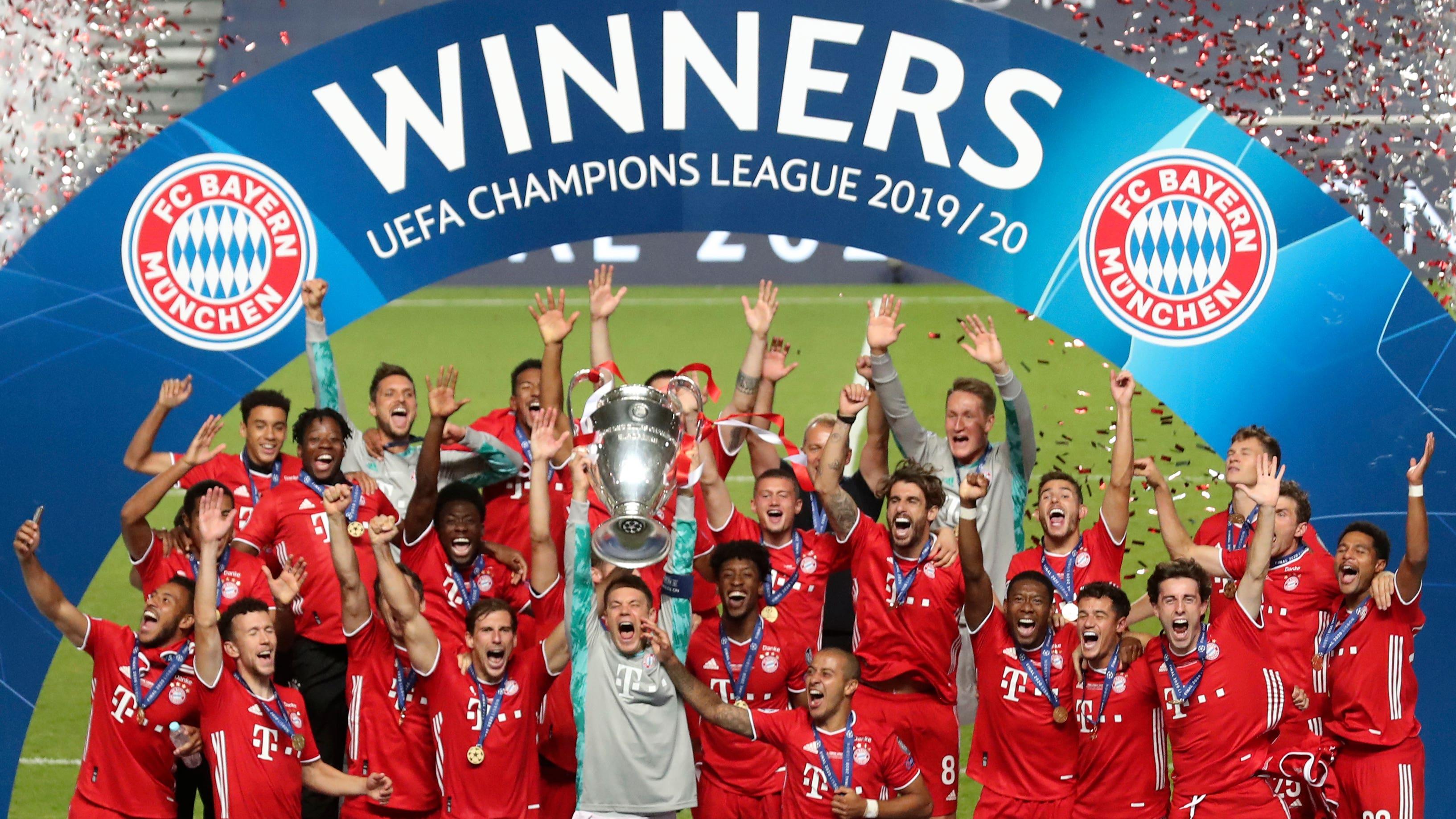 Bayern Munich Win Champions League As Kingsley Coman Header Sinks Psg Bt Sport