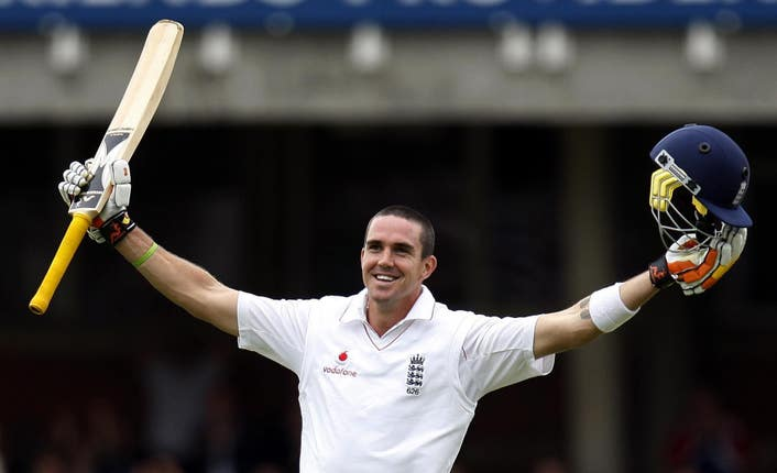 Kevin Pietersen played 104 Test matches for England and finished with a batting average of 47.28