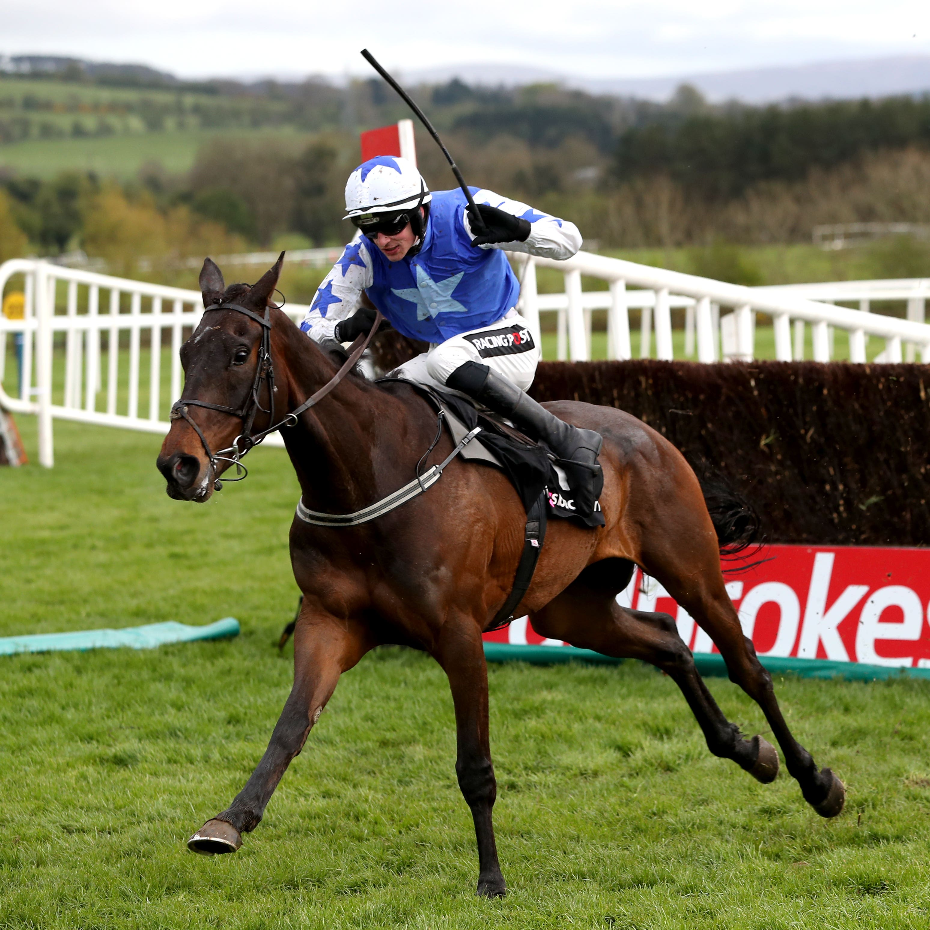 Cadmium on his way to winning at the Punchestown Festival