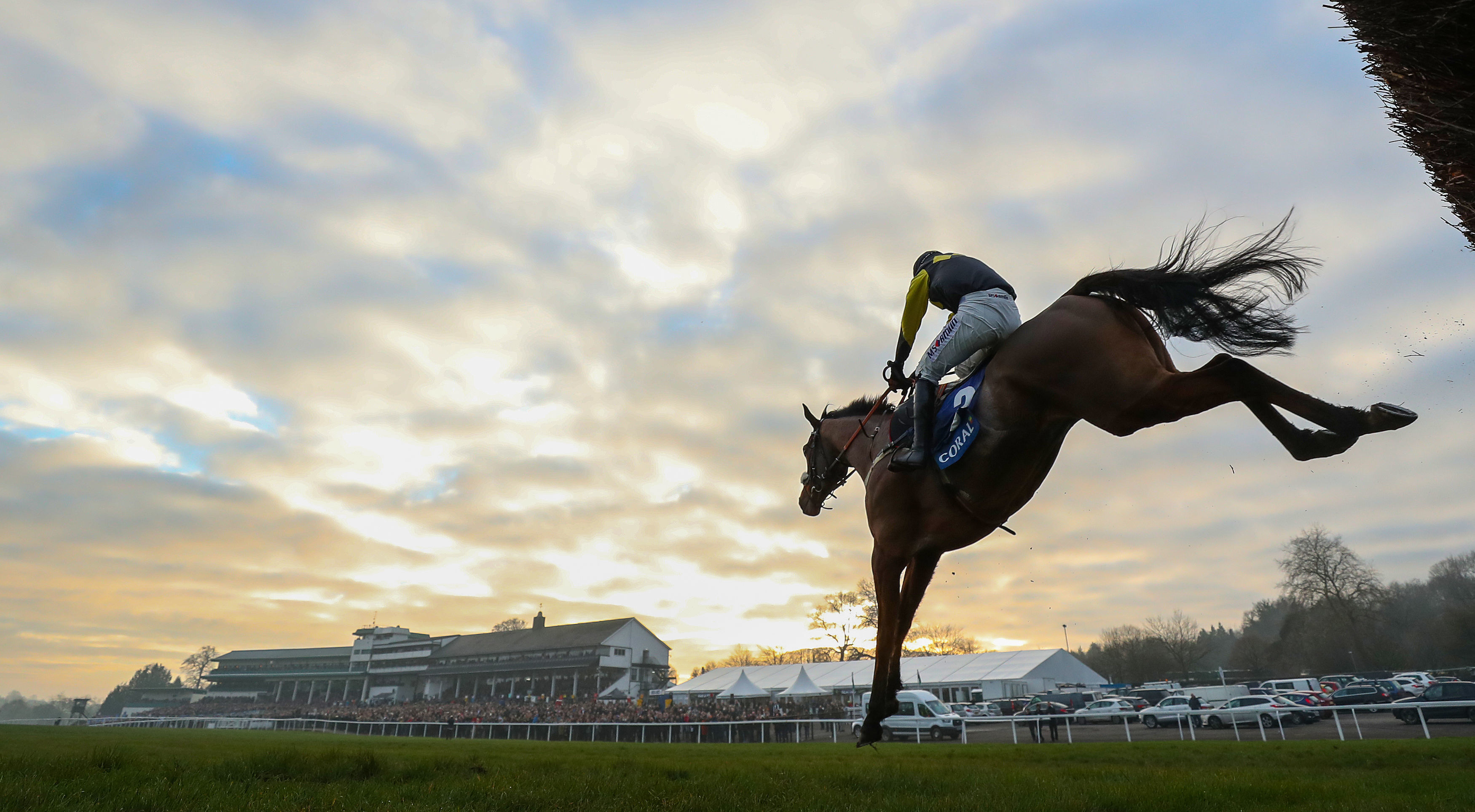 Elegant Escape and Tom O'Brien soared to victory at Chepstow