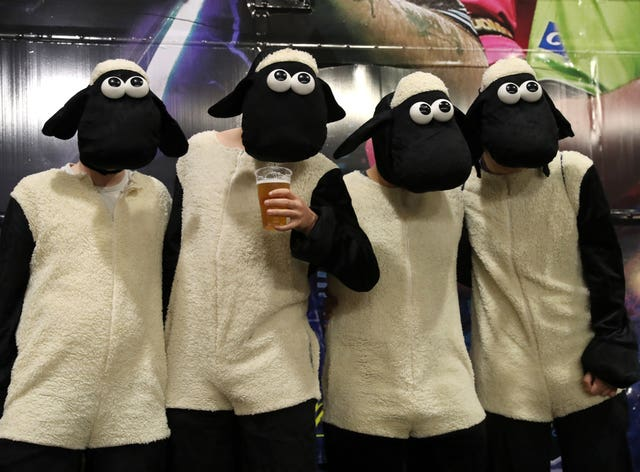 Shaun the Sheep fancy dress