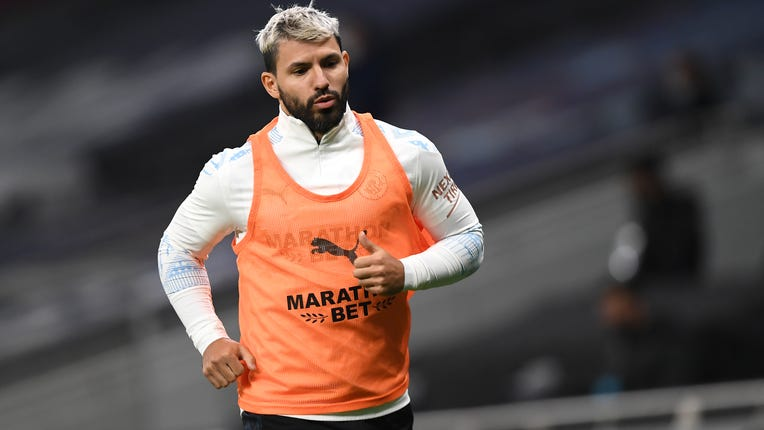 Sergio Aguero on comeback trail but still 'a few weeks' from Man City  return | BT Sport
