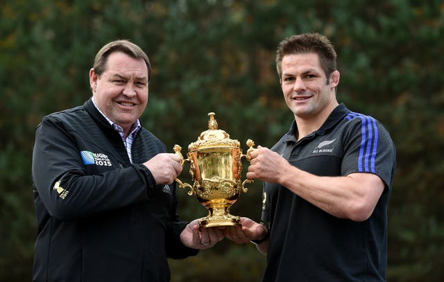 Rugby Union – Rugby World Cup 2015 – New Zealand Press Conference – Pennyhill Park