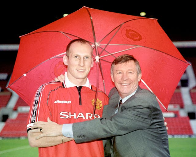 Stam signed for Manchester United for £10million in 1998