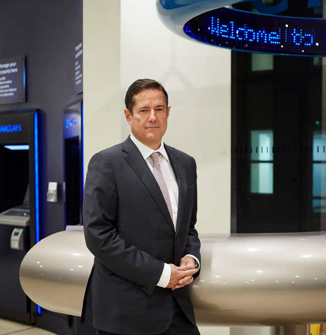 Barclays chief executive