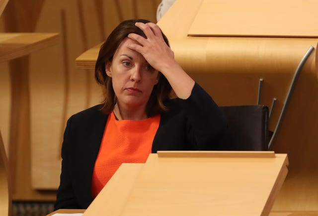 Ms Dugdale hailed the work already carried out in Scotland