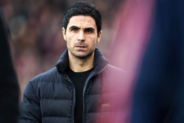 Mikel Arteta is pleased with the improvement in Arsenal's defensive work rate