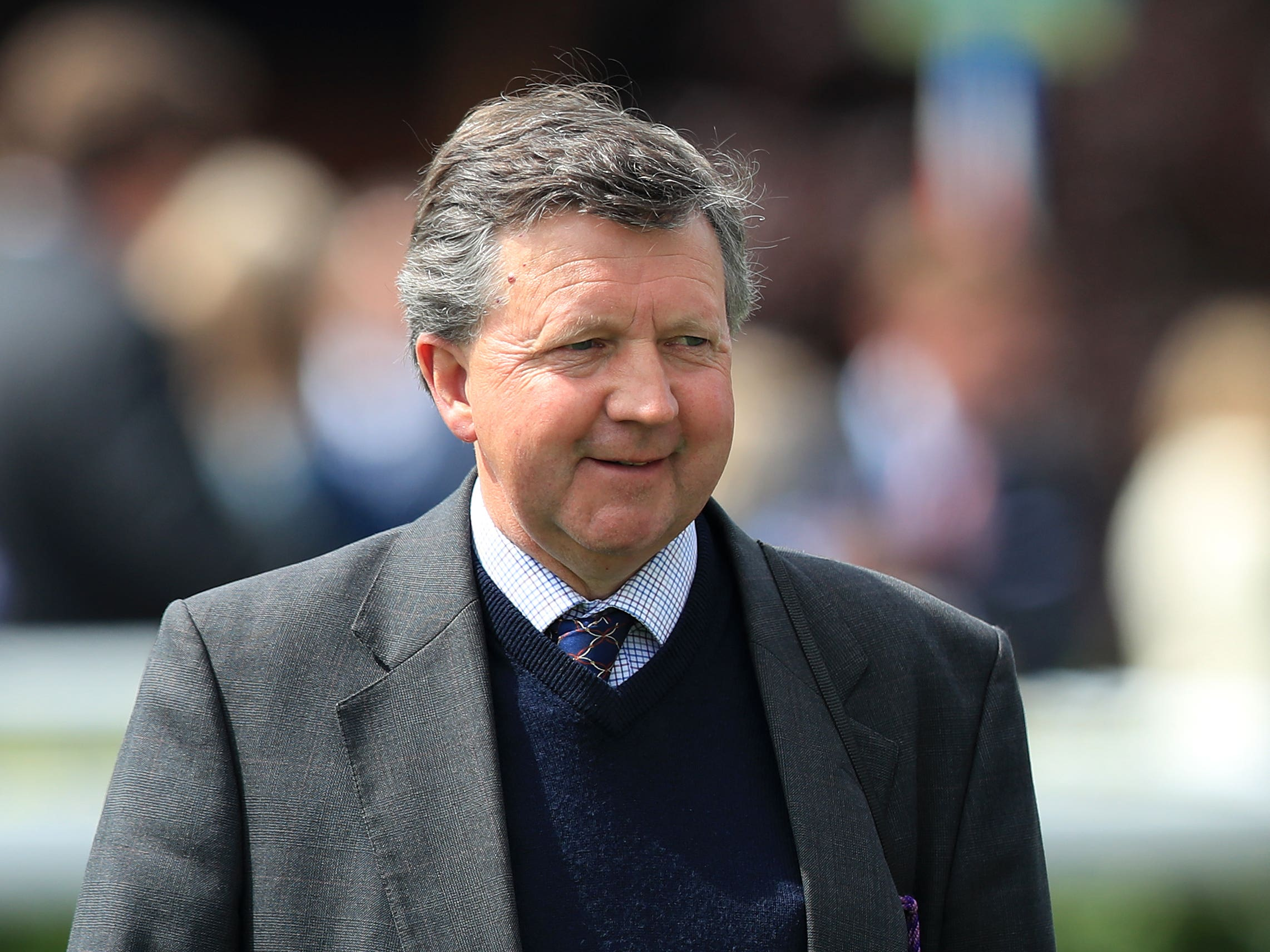 Trainer Tim Easterby took both Silver and Bronze Cups at Ayr (Simon Cooper/PA)