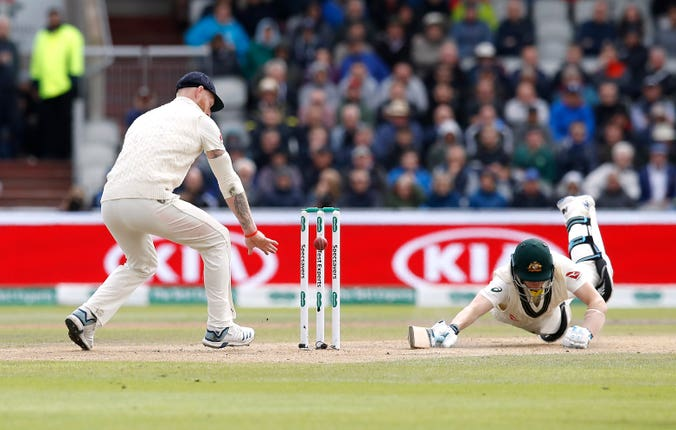 Steve Smith did all he could to stay at the wicket