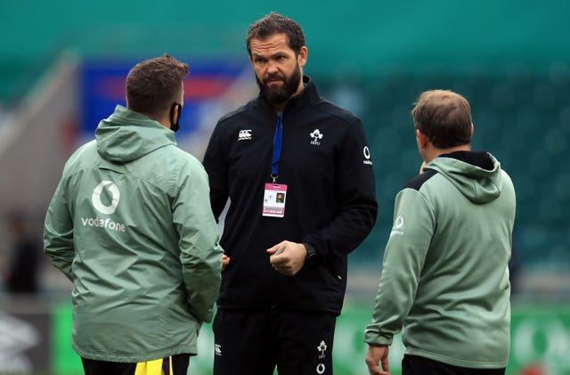 Andy Farrell's Ireland ended 2020 with a win