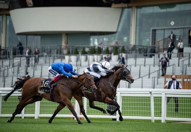 Circus Maximus (right) has won the Queen Anne Stakes over Ascot's straight mile