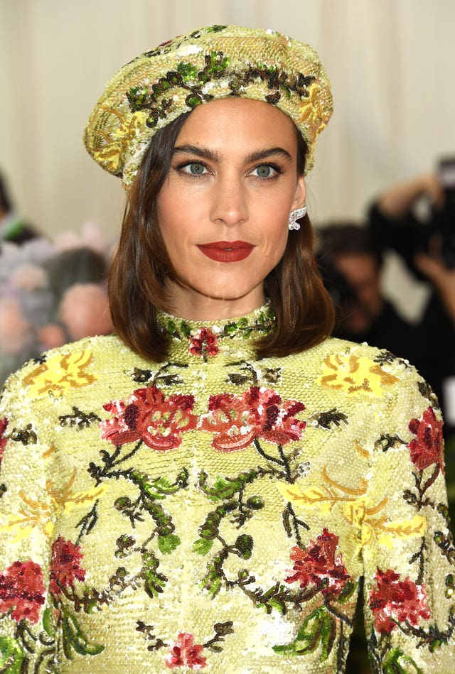 Alexa Chung  at the MET Gala 2019 – New York