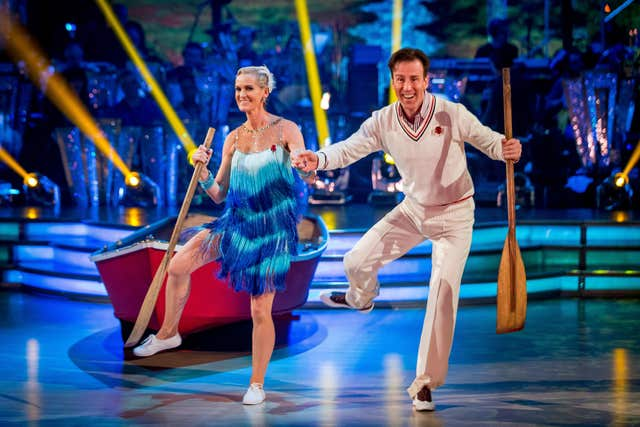 Anton Du Beke and Judy Murray