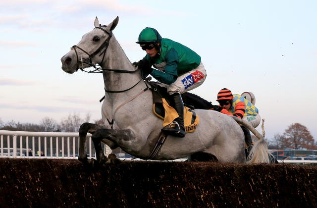 Bristol De Mai is bidding for a third Betfair Chase success