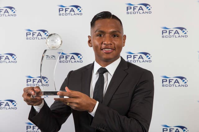 Alfredo Morelos took home an award