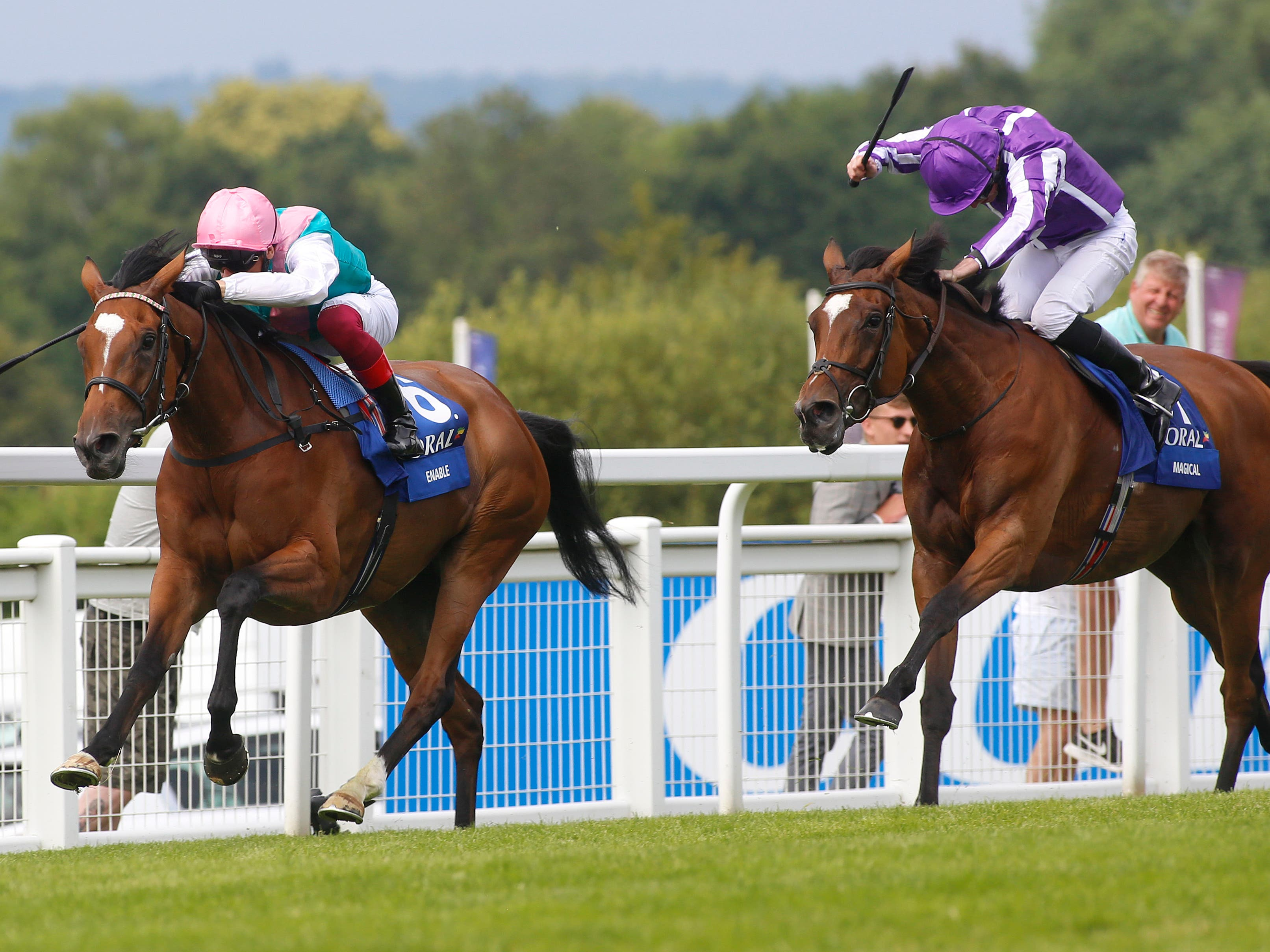 Enable beat Magical to win the Eclipse last year (Julian Herbert/PA)