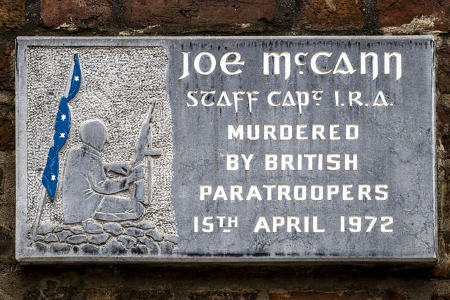 Joe McCann murder trial