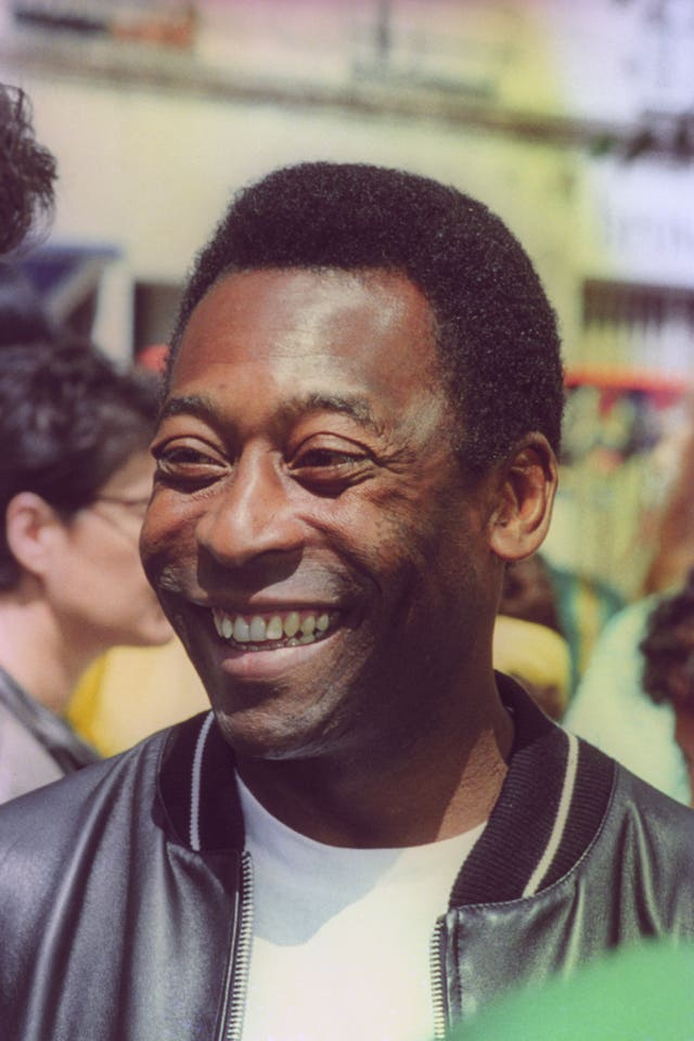 Pele stopped playing for Santos in 1974