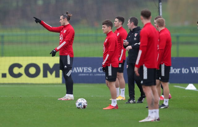 Wales Training Session – The Vale Resort – Tuesday November 17th