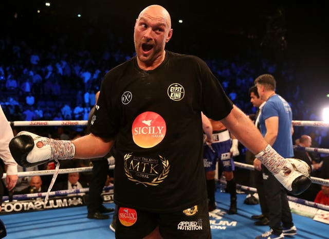 Tyson Fury's comeback appearance in June was somewhat farcical.