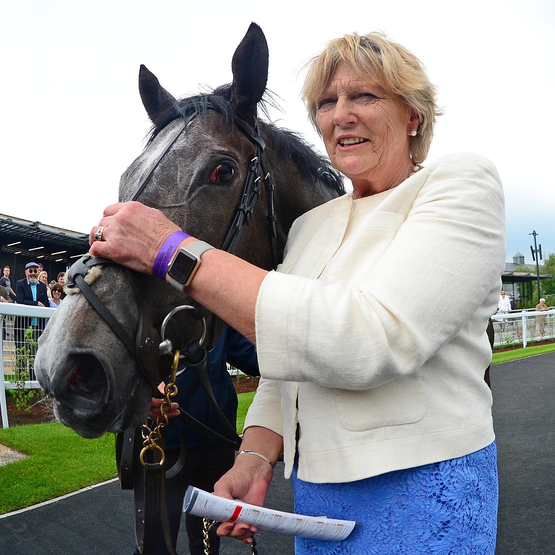 Jessica Harrington was among the winners on a truncated card at Ballinrobe
