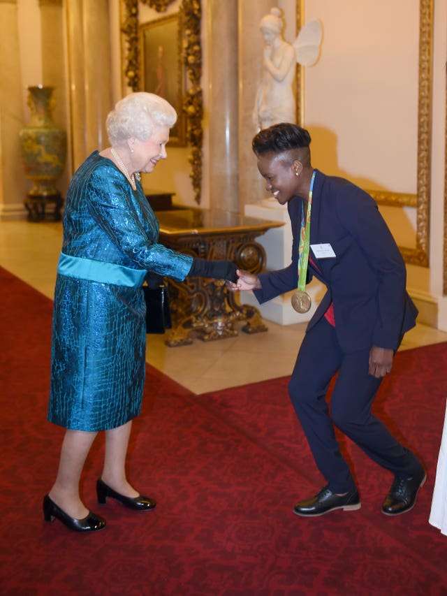 Adams met the Queen again!