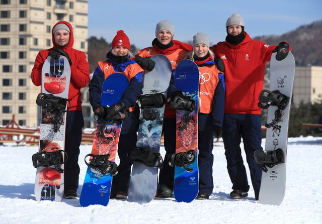 Katie Ormerod was part of a talented Winter Olympics snowboard slopestyle team