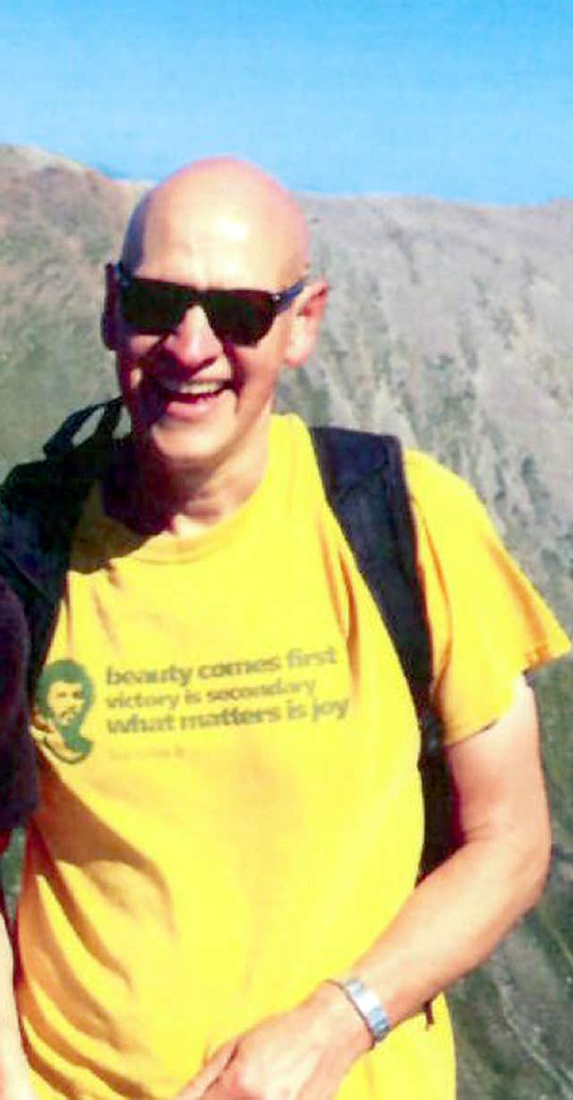 Alan Gibson, 56, had been walking with his brother in Strathcarron (Police Scotland)