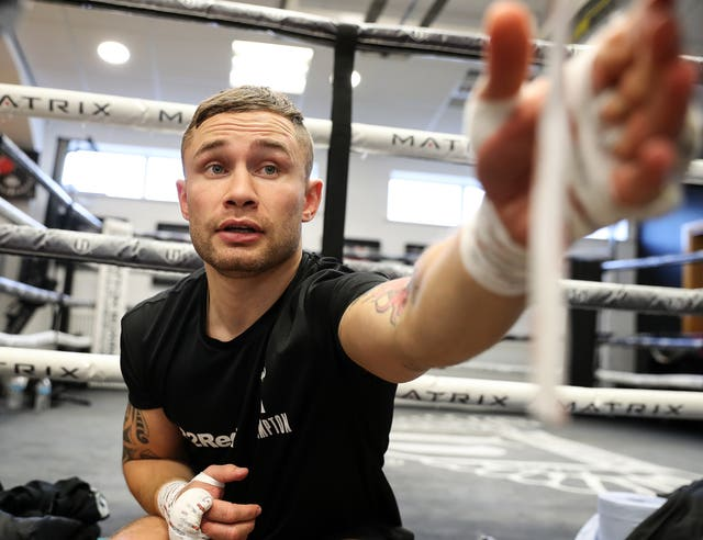 Josh Warrington and Carl Frampton Public Workout – Hatton Health and Fitness