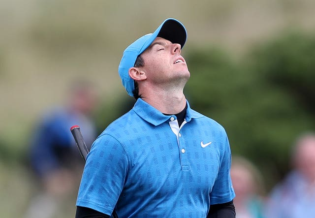 Rory McIlroy had a day to forget last Sunday (David Davies/PA)
