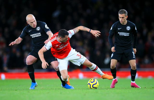 Arsenal v Brighton and Hove Albion – Premier League – Emirates Stadium
