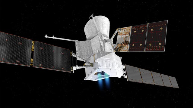Artist impression of the BepiColombo