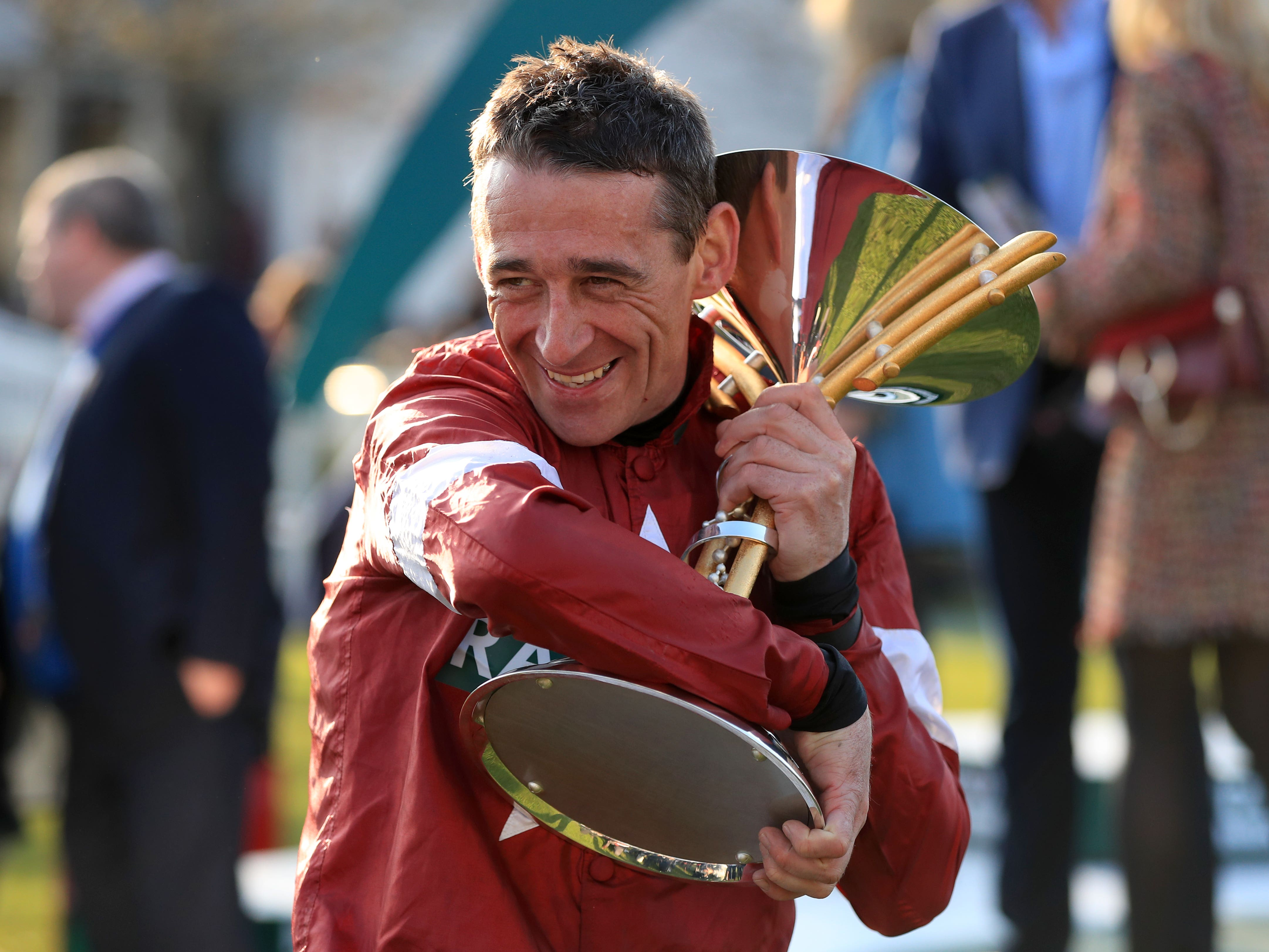 Davy Russell returned at Downpatrick on Friday (Mike Egerton/PA)