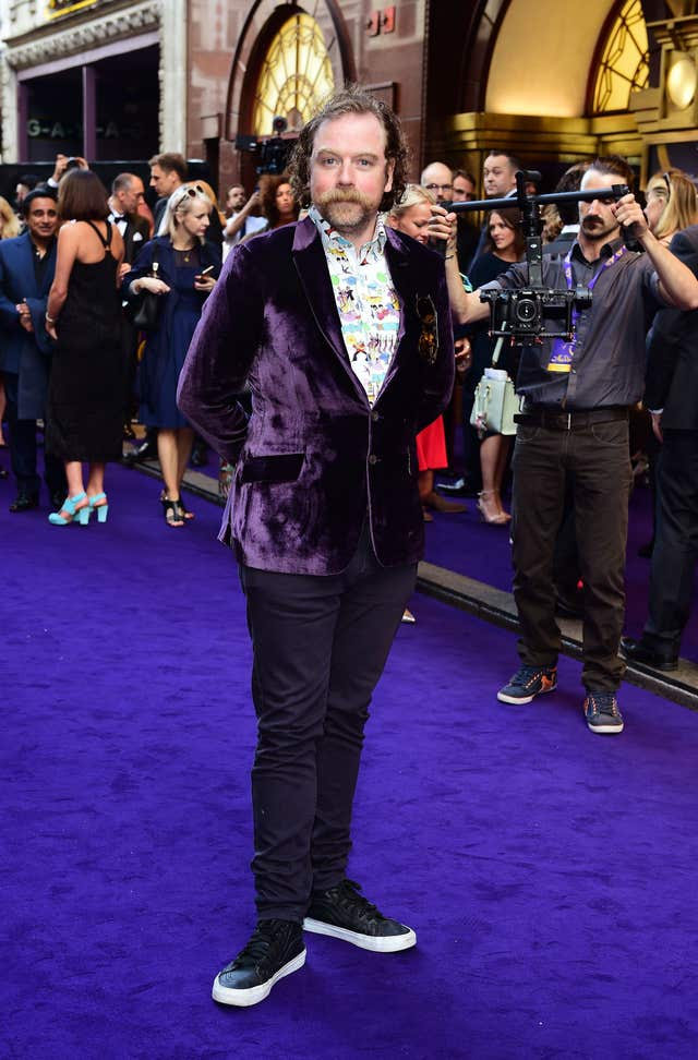 Rufus Hound at a premiere