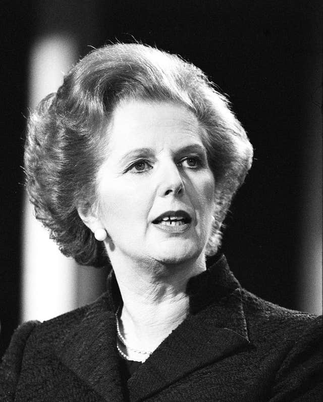 Portrait of Prime Minister, Mrs Margaret Thatcher