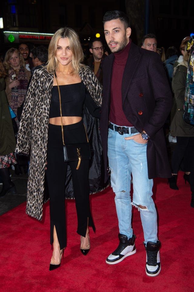 Ashley Roberts and Giovanni Perenice