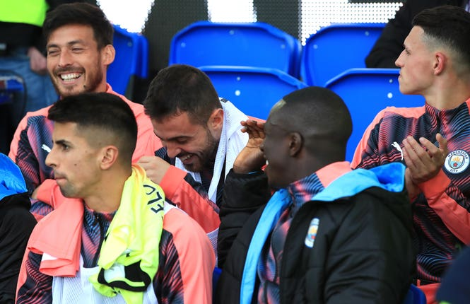 Bernardo Silva and Benjamin Mendy are good friends