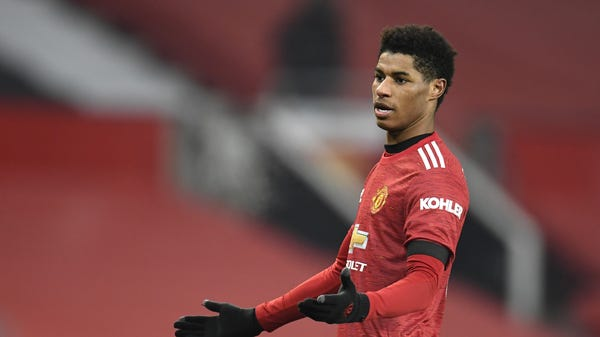 Rashford: Prime Minister committed to action over 'unacceptable' food parcels