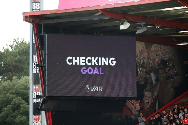 VAR was at the centre of the action