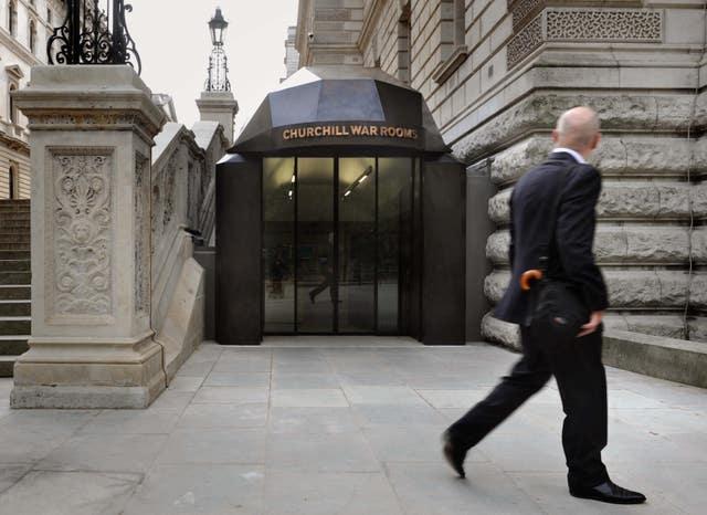 Churchill War Rooms new entrance