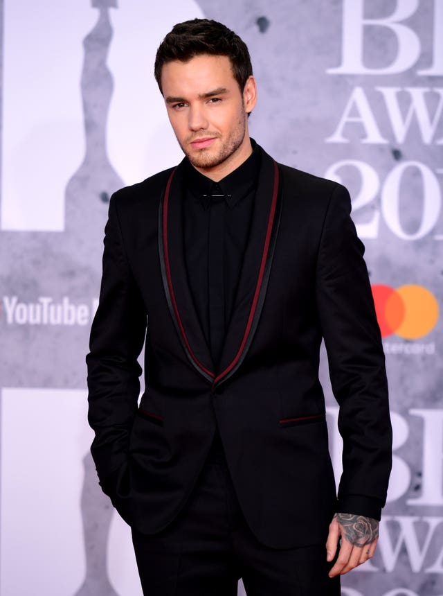 Liam Payne at the Brits