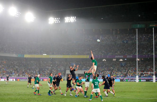 Ireland and Scotland are in Pool A with Japan and it is Joe Schmidt's men who look on course to top that group after an impressive 27-3 win over their Six Nations rivals in the Yokohama rain