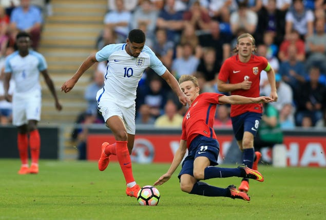 England U21 v Norway U21 – UEFA Under-21 Euro 2017 Qualifying – Group 9 – Community Stadium