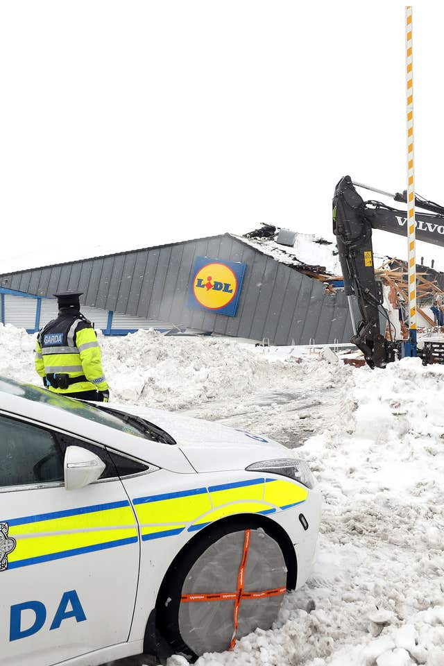 The Lidl store in Fortunestown Lane, Jobstown, Tallaght (Niall Carson/PA)